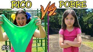 RICO VS POBRE FAZENDO AMOEBA / SLIME #2