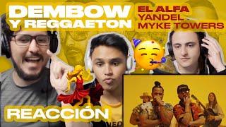 [Reacción] El Alfa, Yandel, Myke Towers - Dembow y Reggaeton (Video Oficial) - ANYMAL LIVE 🔴