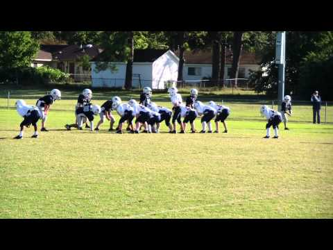 Jordan Norwood RB Southaven Broncos Pee Wee Football