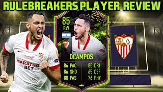 New promo! the argentinian tank! enjoy this 85 rulebreakers lucas ocampos review!rulebreakers player review fifa 21thank you for watching! dont...