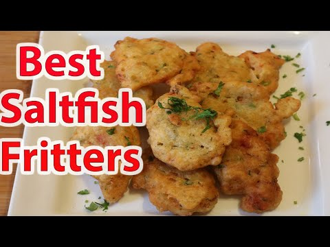 Best Saltfish Fritters