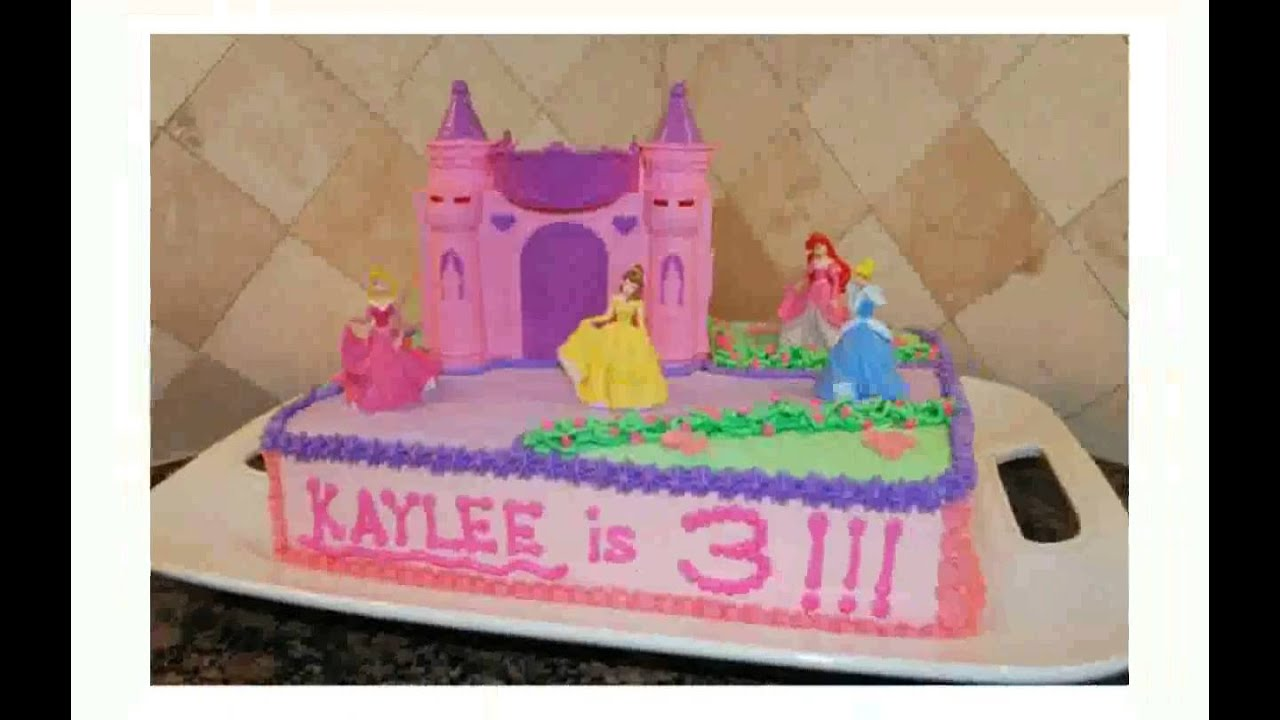 Princess Castle Cake Topper YouTube