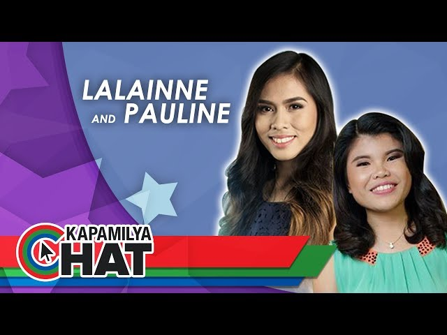 Kapamilya Chat with Lalainne Araña and Pauline for Tawag ng Tanghalan Concert