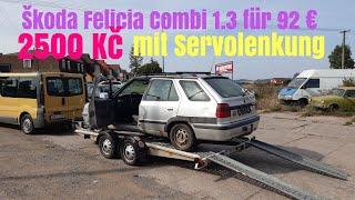 Škoda Felicia Combi 1.3 se servo řízením za 2500 Kč