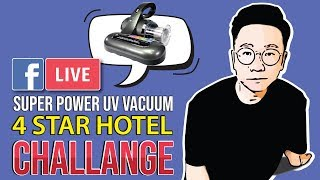 【Coby daddy】EP 2 - 4 star hotel challenge with coby vacuum ! you must see this!