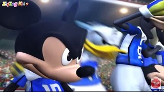 O Rato Mickey | Disney Sports Football Europe | ZigZag Kids HD