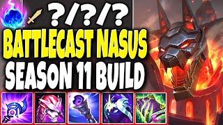 Battlecast Nasus New DIGIMON SKIN 🔥 Max Pen Nasus Season 11 Build 🔥 LoL Nasus Preseason s11 Gameplay