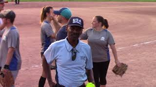 Coed Softball Game - Dino BBQ vs NBC Sports Group - Video Highlights - August 06, 2018