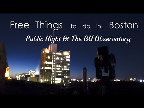 Free Things To Do In Boston: The Observatory At BU
