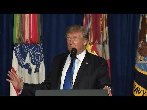 President Donald Trump holds campaign rally in Phoenix