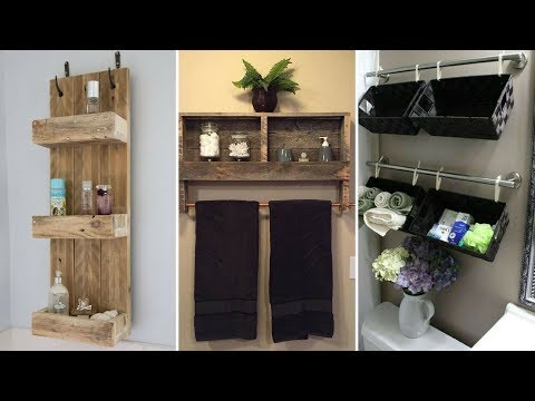 💕5 Creative Hanging Shelves Ideas For Small Yet Stylish Bathroom💕