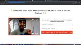 FutureAdpro 2.0 I Wie Kann Ich Eine Anzeige?