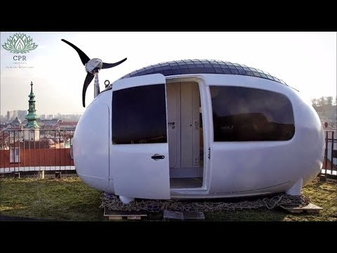 Egg-shaped tiny house 2018