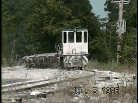 Arkansas Lime Company Mining Railroad 1996