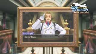 Phoenix Wright: Ace Attorney -- Dual Destinies   Blackquill gameplay SDCC