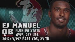 2013 NFL Draft | Best of Florida State's EJ Manuel Highlights | ACCDigitalNetwork thumbnail