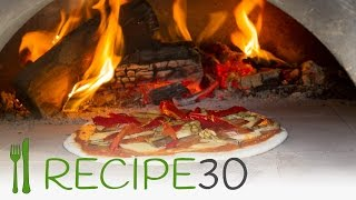 Gourmet Pizza In Wood Fired Oven - Spanish Pepperoni
