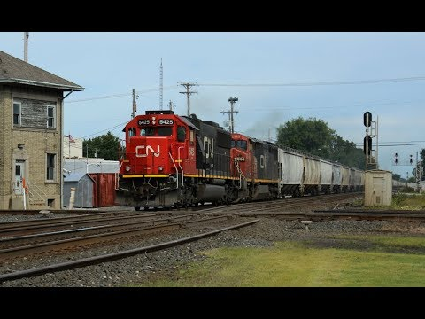 2017 Train Watching in Ohio - Day 2, Deshler Crossroads (9/1/2017 - Second Half)