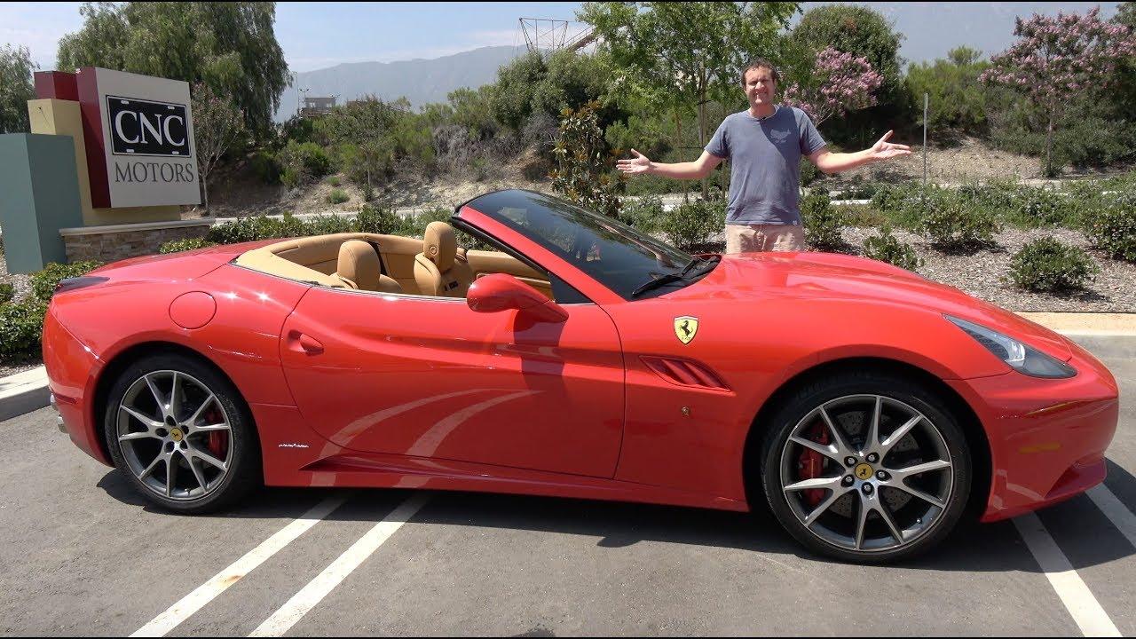 The Ferrari California Is Becoming A Bargain Youtube