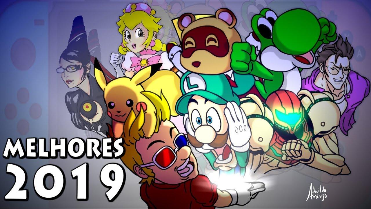 Melhores Jogos de Nintendo Switch Para 2019