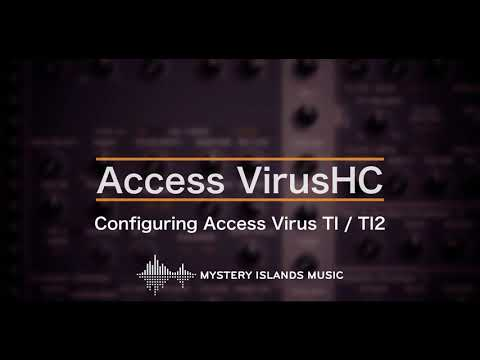 Access VirusHC AudioUnit & VSTi Librarian Editor Plug-in