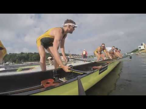 Climb on board with the Australian men's eight
