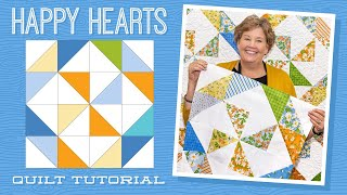 """Make a """"Happy Hearts"""" Quilt with Jenny Doan of Missouri Star (Video Tutorial) thumbnail"""