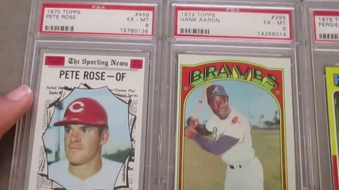 New Vintage Psa Graded Baseball Card Pick Ups