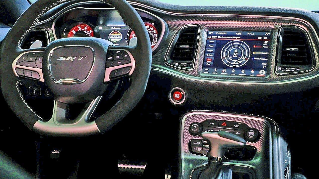 Dodge Challenger Interior >> Dodge Challenger 2019 Interiors R T Srt Hellcat Srt Redeye