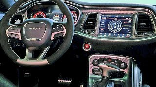 Dodge Challenger (2019) Interiors – R/T, SRT Hellcat, SRT Redeye