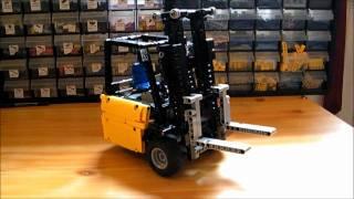 Lego Mini Forklift Truck