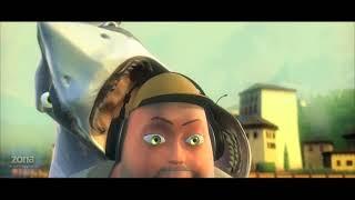 Мультфильмы  Глупая акула короткометражный мультик. Мультик для детей.