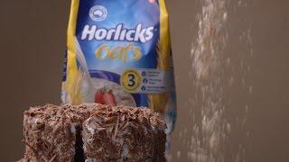 Horlicks Oats Vegetarian Cake