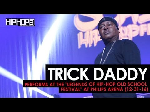 "Trick Daddy Performs at the ""Legends Of Hip-Hop New Year's Eve Old School Festival"" at Philips Arena"