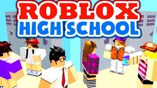 ROBLOX Highschool!! - Highschool Life Simulator In Roblox (Roblox Gameplay)