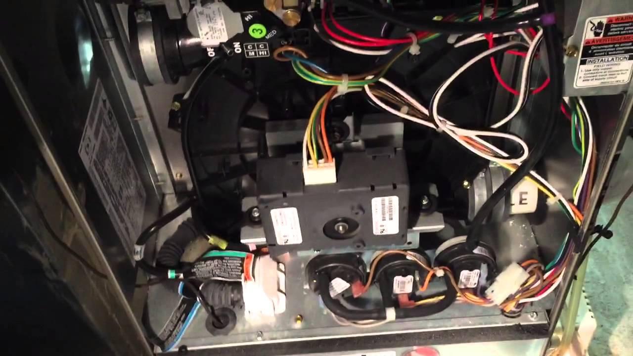 bryant gas furnace inducer motor or jet engine? Furnace Blower Motor