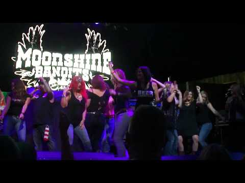 "Moonshine Bandits ""Get Loose""  at Gas Monkey Live"
