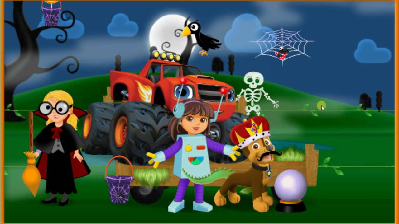 dora and friends halloween dress up parade dora the explorer