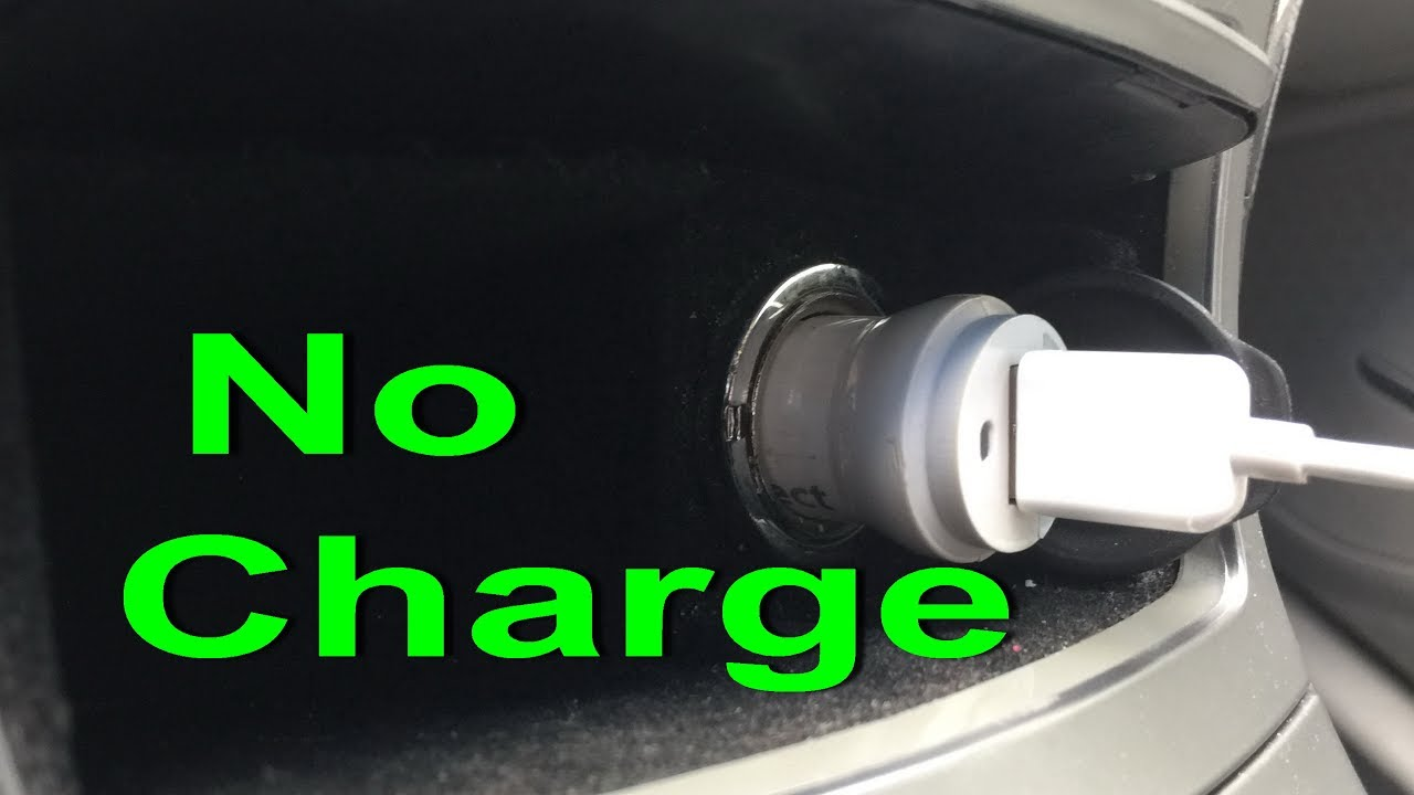 Car charger not working FIX Cigarette lighter socket