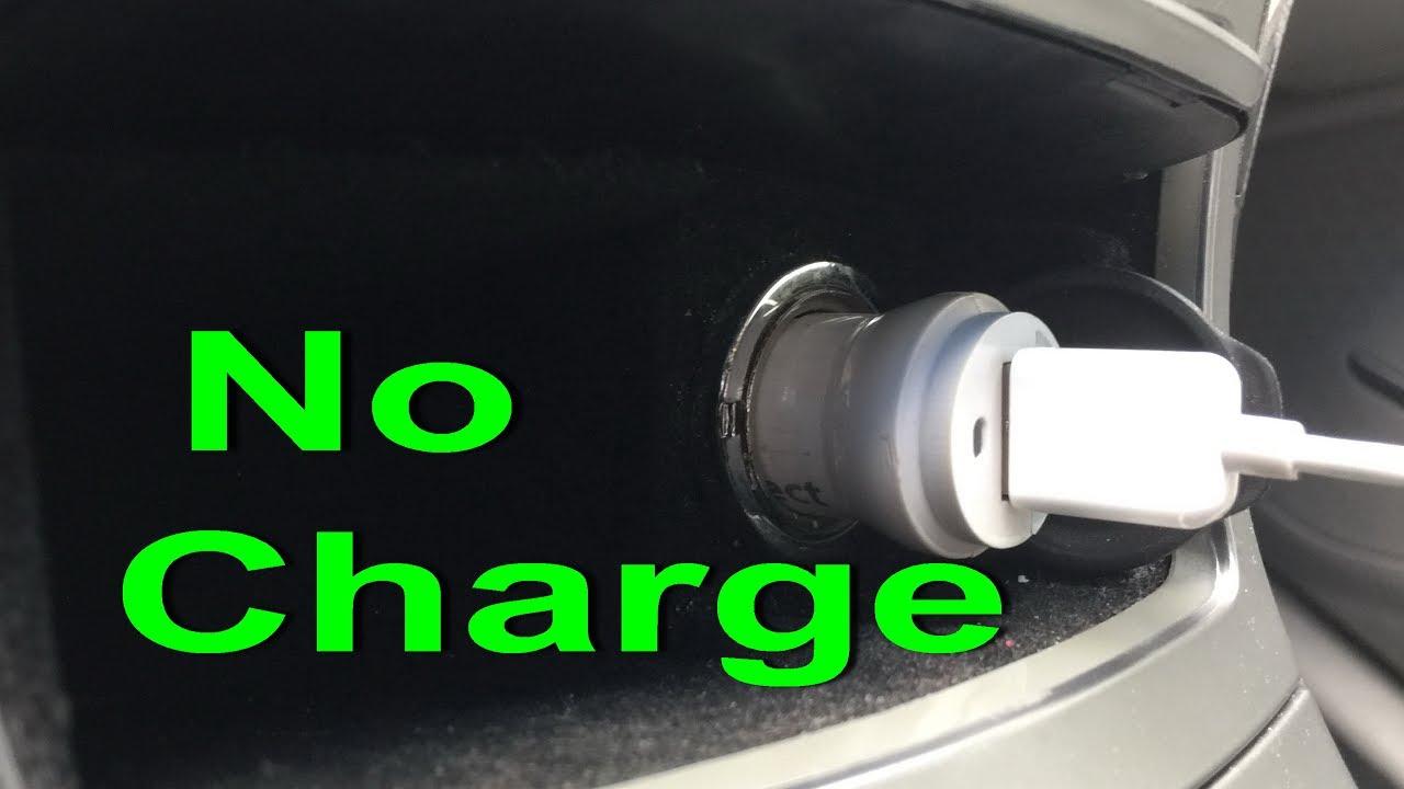 Car charger not working FIX Cigarette lighter socket