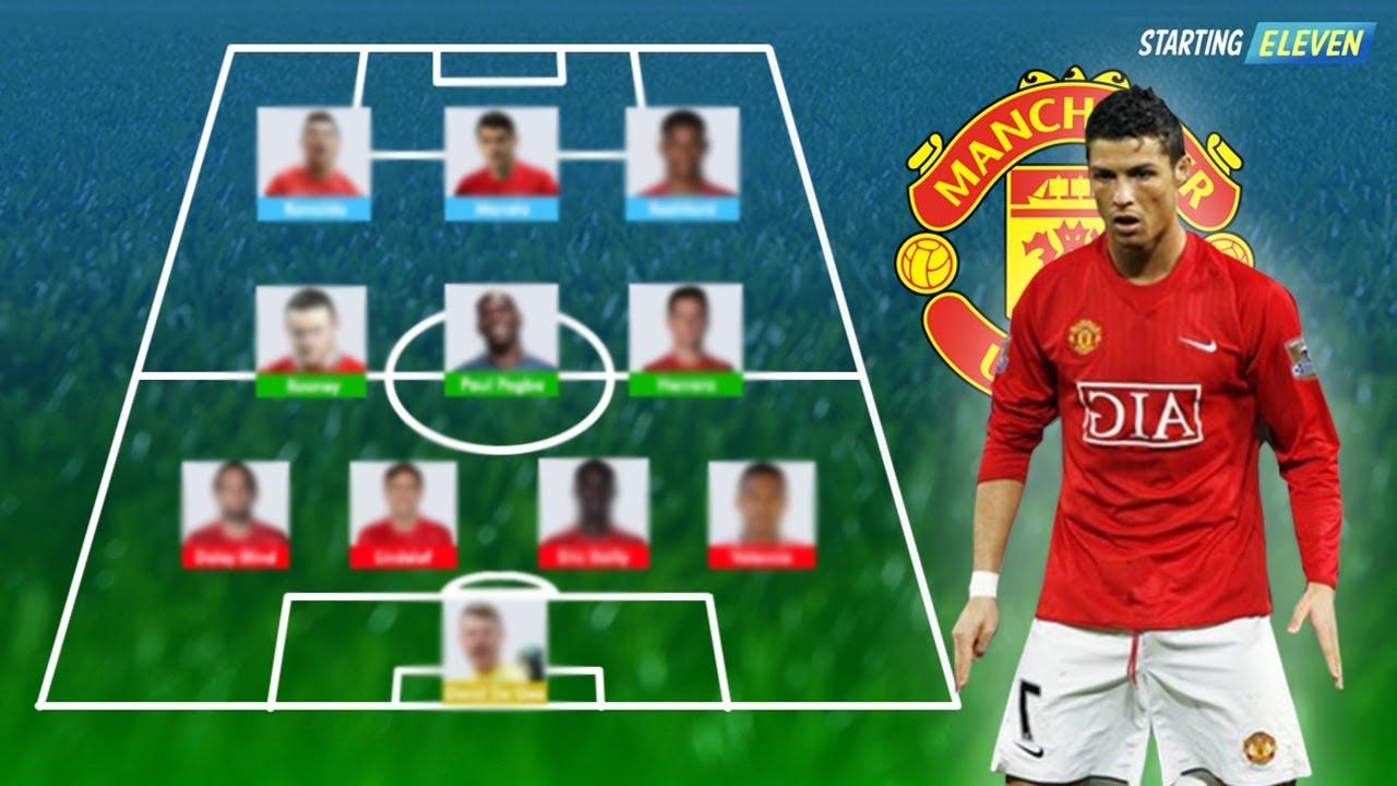 Ronaldo Ke Mu Beginilah Formasi Line Up Terbaik Manchester