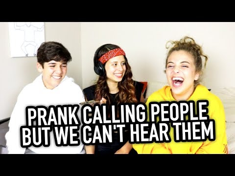 Thumbnail: CALLING PEOPLE BUT WE CAN'T HEAR THEM ft. BabyAriel & Mario Selman