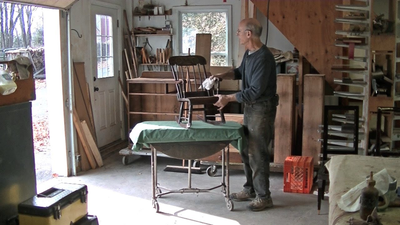 Restoring an Antique Children's Rocking Chair - Thomas Johnson Antique  Furniture Restoration - YouTube - Restoring An Antique Children's Rocking Chair - Thomas Johnson