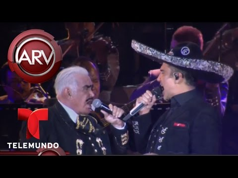 Apoteósica despedida de Vicente Fernández en México | Al Rojo Vivo | Telemundo
