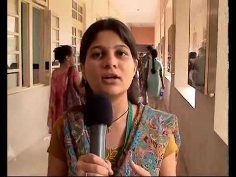 Student interviews at MTTS 2011 ICT, Mumbai