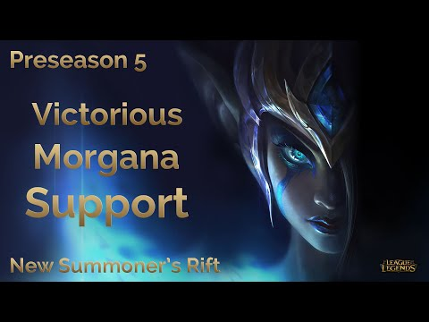 [PS5] Victorious Morgana Support - New Summoner's Rift Visual Update