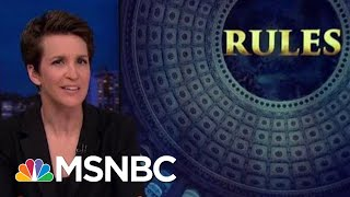 Courts Not Playing Along With Donald Trump's Slowdown Strategy | Rachel Maddow | MSNBC