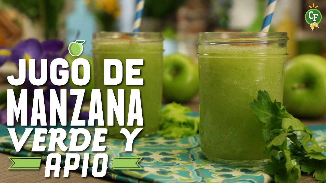 C mo preparar jugo de manzana verde cocina fresca - Como preparar las judias verdes ...
