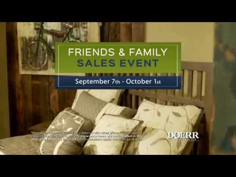Doerr Furniture Friends U0026 Family Sale   September 2017