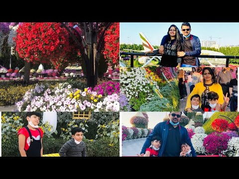 Family day out vlog | miracle Garden Dubai 2020 day out vlog